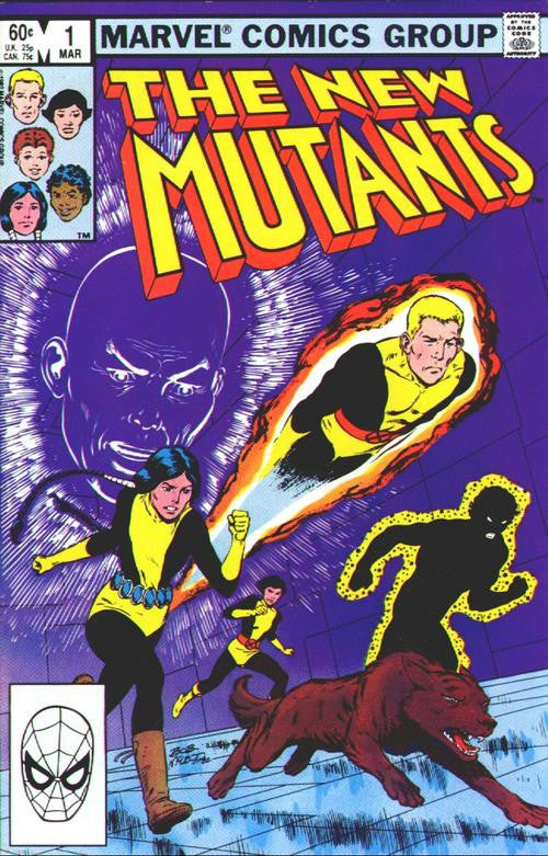 MARVEL Comics - The New Mutants First Edition - Vol 1 Issue 1 - March 1983