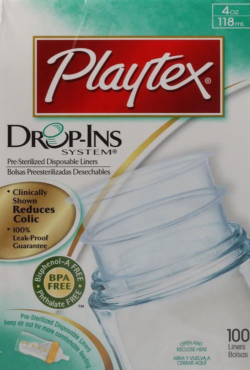 PLAYTEX Drop-Ins Pre-Sterilised Disposable Bottle Liners