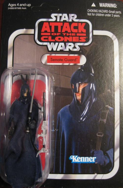 STAR WARS Attack Of The Clones Senate Guard Action Figure