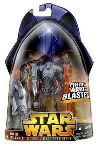 STAR WARS Revenge Of The Sith Super Battle Droid Action Figure