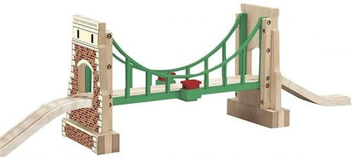THOMAS & FRIENDS Wooden Railway - Collapsing Sodor Suspension Bridge