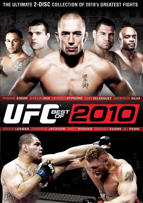 UFC - Best Of 2010 - 2 DVD Set