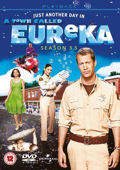 A Town Called Eureka - Season 3.5 (3 DVD Set)