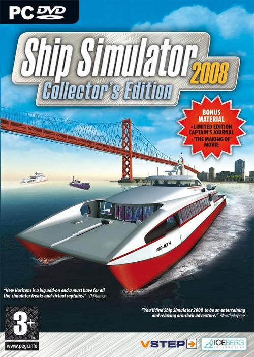 Ship Simulator - Collector's Edition - 2008 - PC