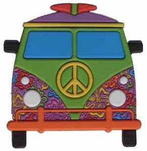 LUBBER Bag & Purse Peace Bus Lubb