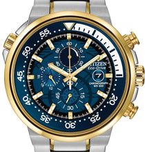 Load image into Gallery viewer, Authentic CITIZEN Eco-Drive Endeavour Stainless Steel Chronograph Mens Watch