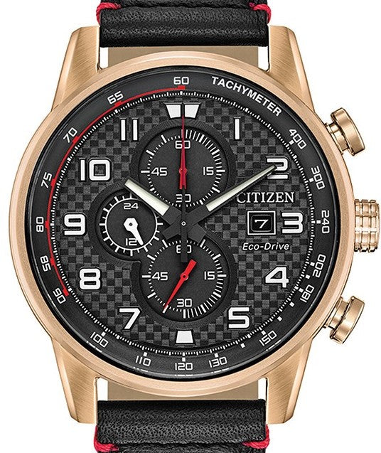 Authentic CITIZEN Eco-Drive Primo Racing Chronograph Mens Watch