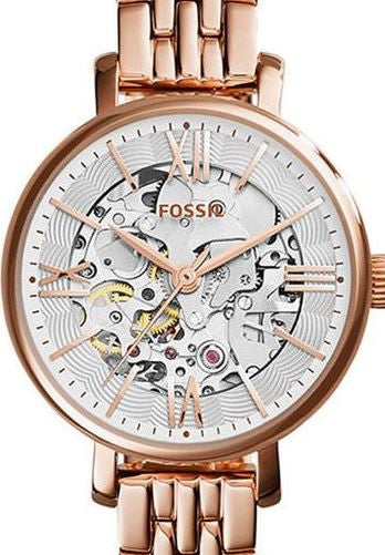 women 39 s watches authentic fossil jacqueline rose gold. Black Bedroom Furniture Sets. Home Design Ideas