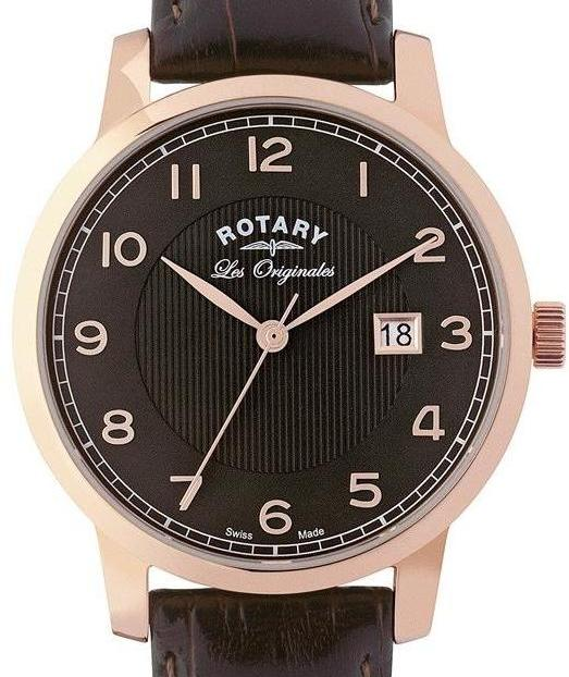 Authentic ROTARY Les Originales Swiss Made Mens Dress Watch