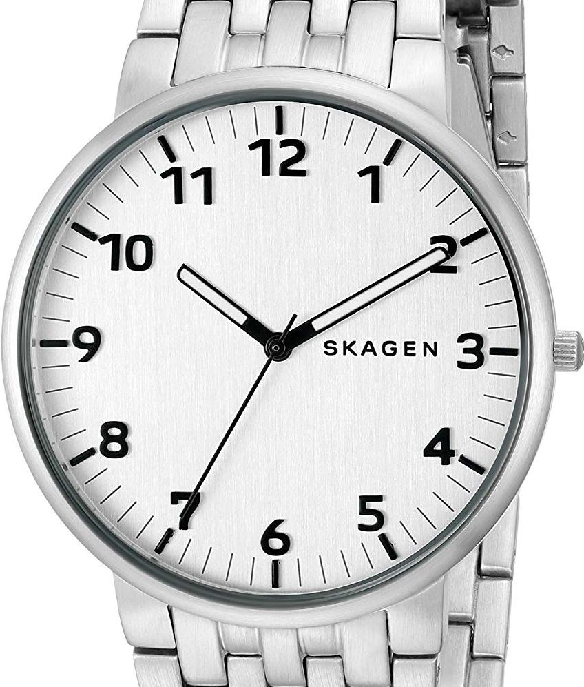 Authentic SKAGEN Denmark Ancher Stainless Steel Mens Watch