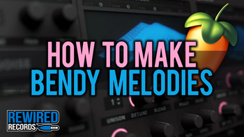 How to make bendy melodies
