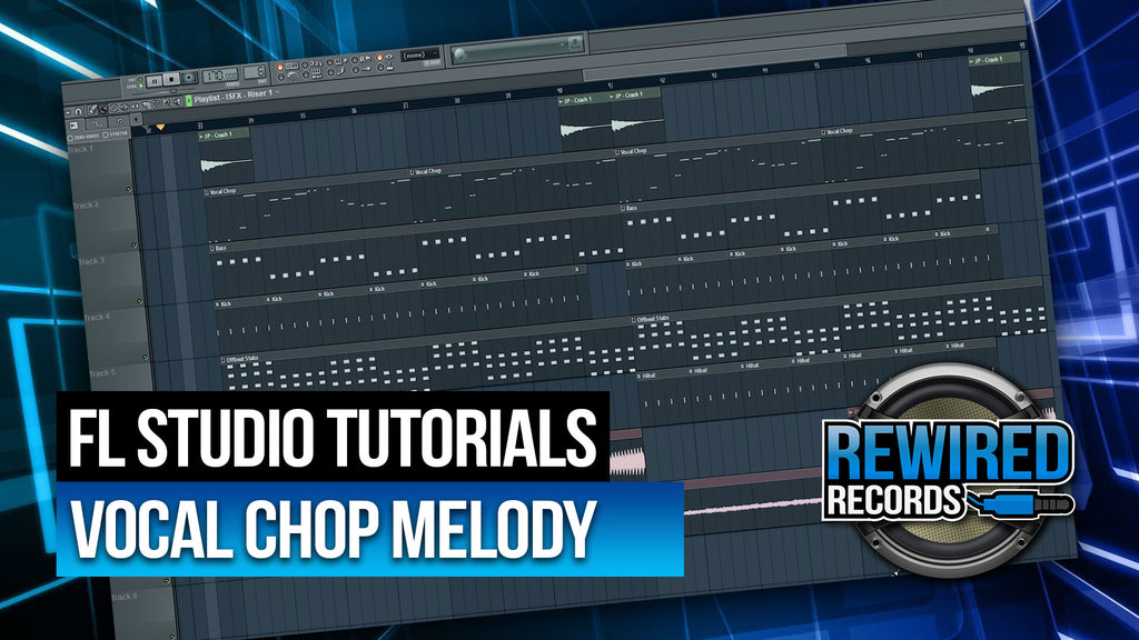 Vocal Chop Melody Tutorial - The Basics