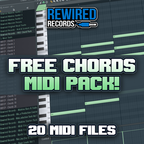 FREE Chords Midi Pack - Rewired Records