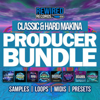 Classic & Hard Makina Producer Bundle | Makina Sample Packs - Rewired Records