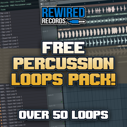 FREE Percussion Loops Pack - Rewired Records