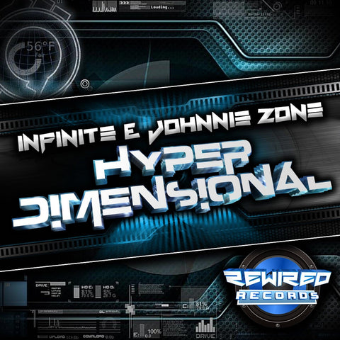 Infinite & Johnnie Zone - Hyper Dimensional - Rewired Records