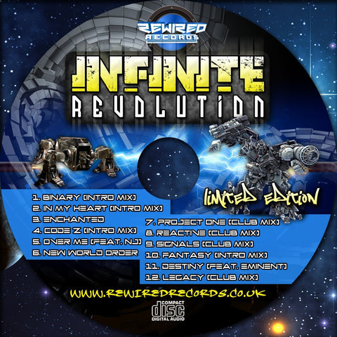 Infinite - Revolution (Limited Edition CD) - Rewired Records