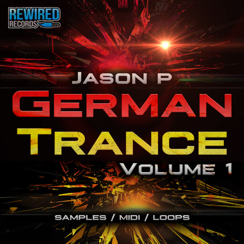 Jason P - German Trance Volume 1 (Producer Tools) - Rewired Records