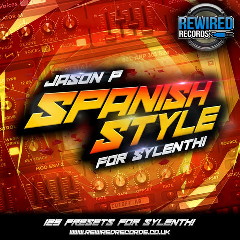 Jason P - Spanish Style! (Sylenth1 Bank) - Rewired Records