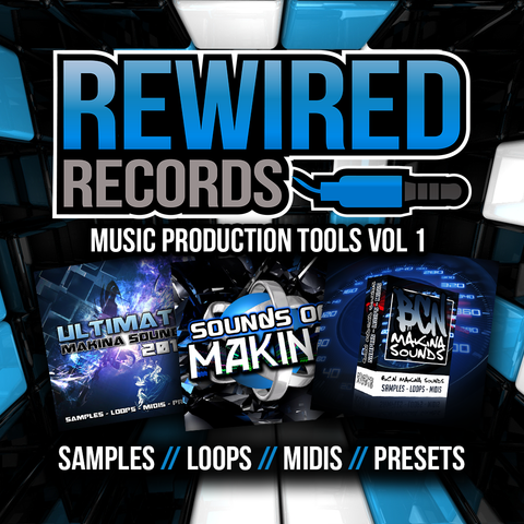 Rewired Records - Makina Production Tools Vol 1 - Rewired Records