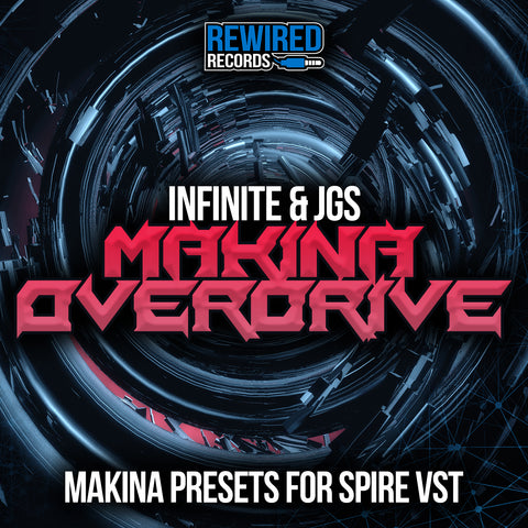 Makina Overdrive - Spire VST Presets & MIDI Files