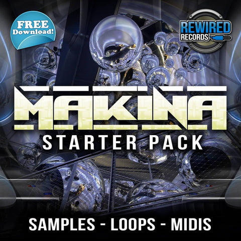 Rewired Records - Makina Starter Pack - Rewired Records