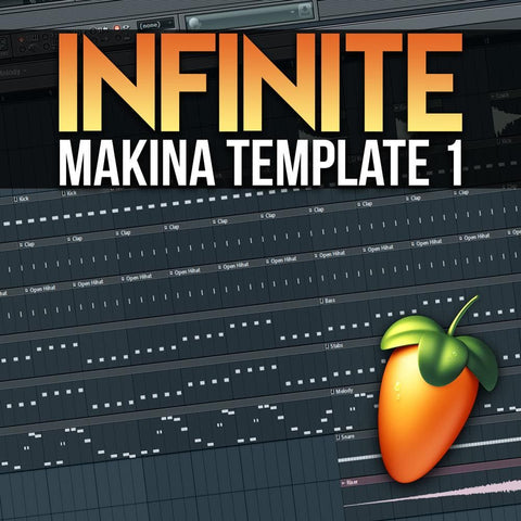 Infinite Makina Template 1 (FL Studio Project) - Rewired Records