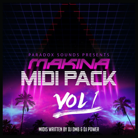 Paradox Sounds Makina Midi Pack Vol 1