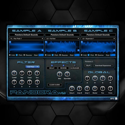 Pandora VSTi v2.1 - 32bit (FREE) - Rewired Records