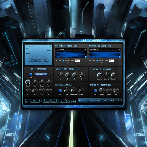 Pandora VSTi v1.0 (FREE DOWNLOAD IN DESCRIPTION) - Rewired Records