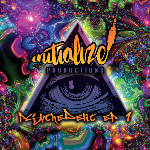 Initialize Productions - Psychedelic EP 1 (CD Album) - Rewired Records