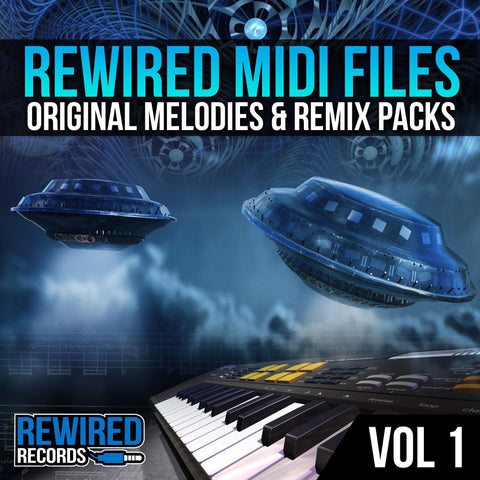Rewired Midi Files Vol 1 - Rewired Records