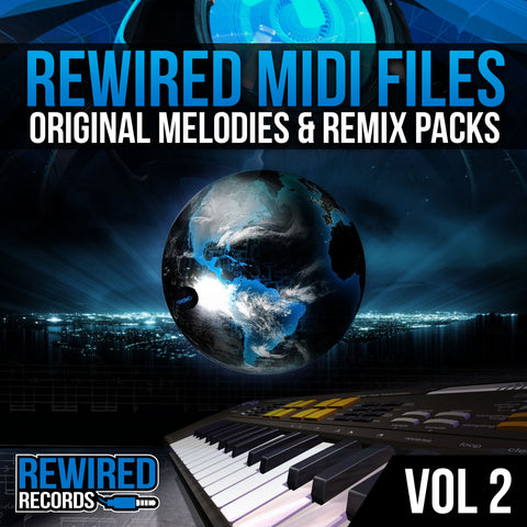 Rewired Midi Files Vol 2