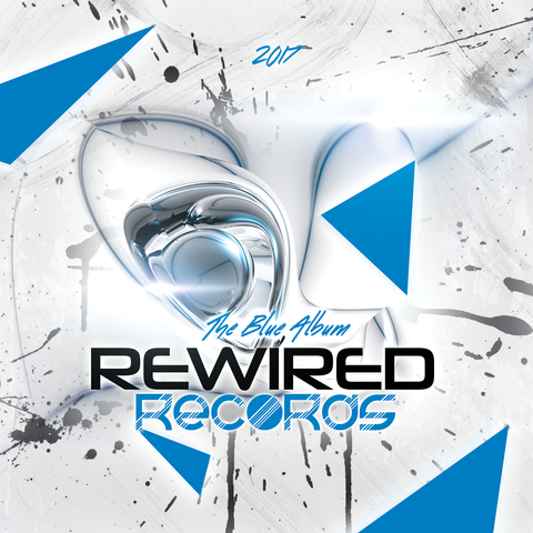 Rewired Records - The Blue Album - Rewired Records