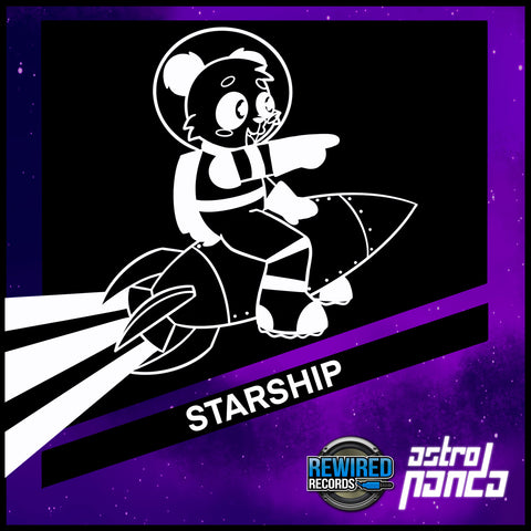 Astro Panda - Starship - Rewired Records