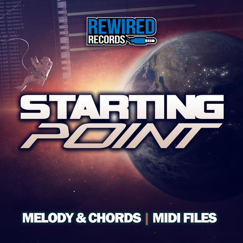 Starting Point - Melody & Chords Midi Files - Rewired Records