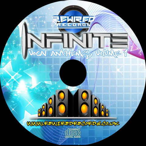 Infinite - Vocal Anthems Vol 1 (Mixed Album) - Rewired Records