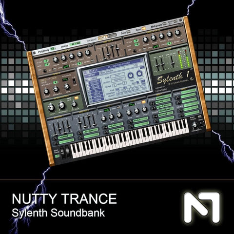Nutty Traxx Hardstyle Soundset for Sylenth1 - Rewired Records