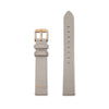 Furore FS 1602 Leather strap Grey - 16mm