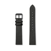 Furore FS 1807 Leather strap Black - 18mm