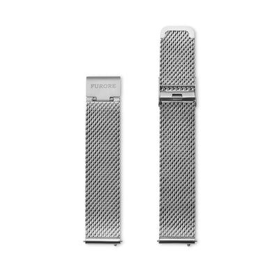 Furore FS 1817 Mesh strap stainless steel - 18mm