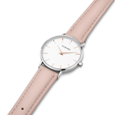 Furore FS 1605 Leather strap Nude - 16mm