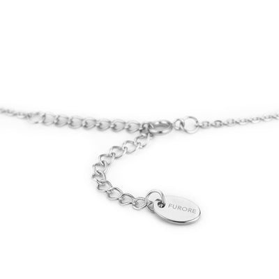Furore FJ 2309 Stainless steel bracelet with dangling charms