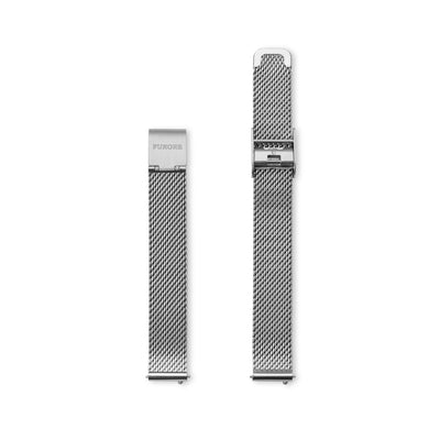 Furore FS 1203 Mesh strap Stainless steel - 12mm