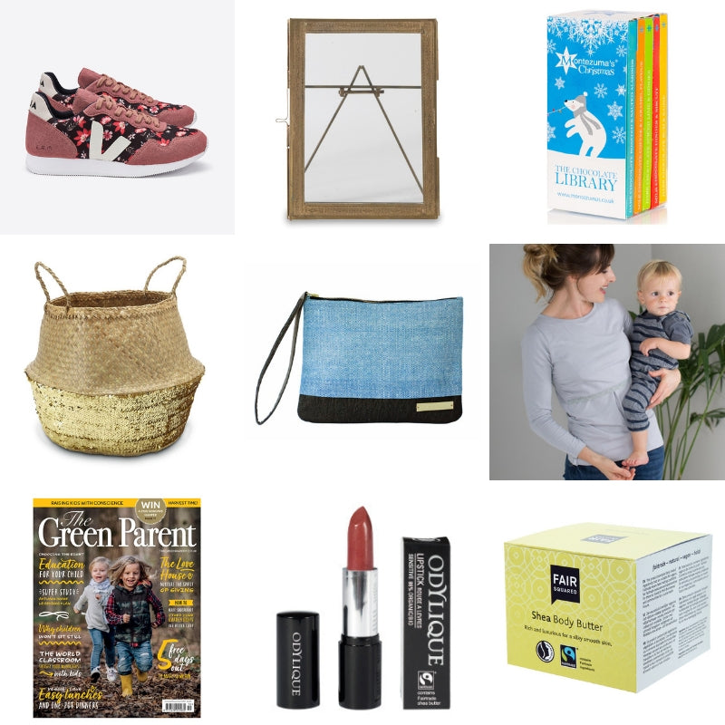 Ethical gift guide for mothers of young kids