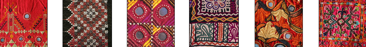 Styles of Kutchi Embroidery