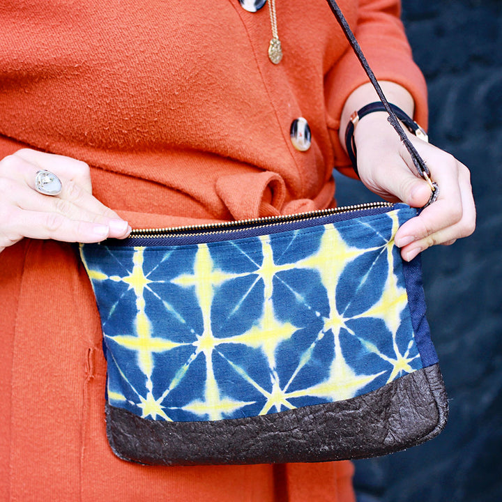 Mumtaz Tie Dye Cross-Body Bag