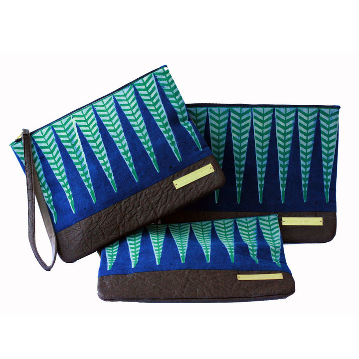 Sakina fair trade clutch bags
