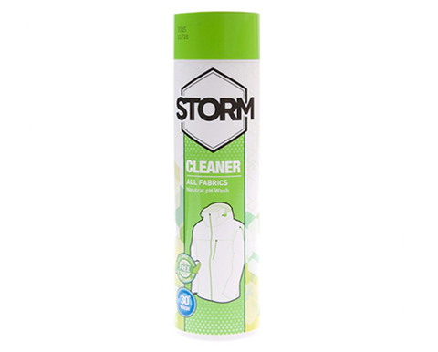 wash in cleaner storm