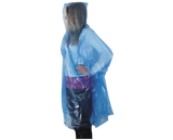 Palerina Rain Poncho Light Travel Safe